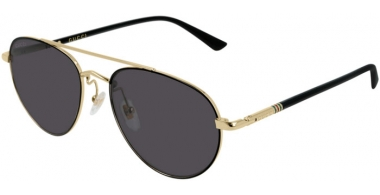 Sunglasses - Gucci - GG0388S - 006 Calibre56 GOLD // GREY