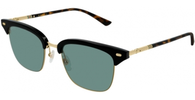 Sunglasses - Gucci - GG0389S - 007 Calibre53 BLACK HAVANA // GREEN