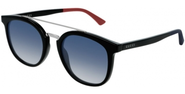 Sunglasses - Gucci - GG0403S - 004 BLACK // BLUE