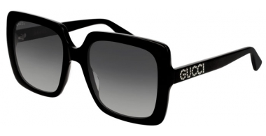 Gafas de Sol - Gucci - GG0418S - 001 BLACK // GREY GRADIENT