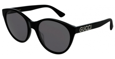 Sunglasses - Gucci - GG0419S - 001 BLACK // GREY