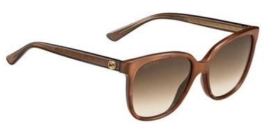 Sunglasses - Gucci - Ofertas especiales - GG 3819/S - R3V (JD) BROWN MOP // BROWN GRADIENT