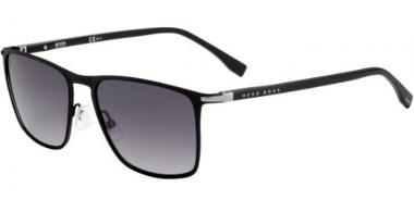 Sunglasses - BOSS Hugo Boss - BOSS 1004/S - 003 (9O) MATTE BLACK  // DARK GREY GRADIENT