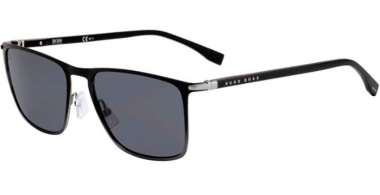 Sunglasses - BOSS Hugo Boss - BOSS 1004/S - O6W (IR) BLUE RUTHENIUM DARK GREY // GREY