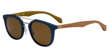 Sunglasses - BOSS Hugo Boss - BOSS 0777/S - RBF (EC) BLUE BROWN // BROWN