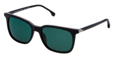 Sunglasses - Lozza - SL4160M - BLKP BLACK // GREY GREEN POLARIZED