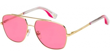 Sunglasses - Marc Jacobs - MARC 271/S - EYR (U1) GOLD PINK // PINK