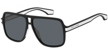 Sunglasses - Marc Jacobs - MARC 288/S - 80S (IR)  BLACK WHITE // GREY