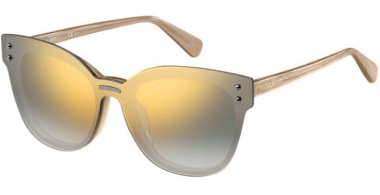 Sunglasses - Max & Co - MAX&CO.375/S - 016 (9F)  BRONZE GLITTER // LIGHT GREY GRADIENT GOLD MIRROR