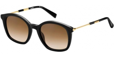 Sunglasses - MaxMara - MM WAND II - 807 (HA)  BLACK // BROWN GRADIENT