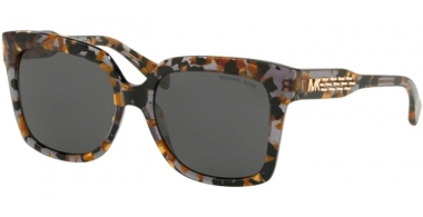 Sunglasses - Michael Kors - MK2082 CORTINA - 334087 BLACK GOLD TORTOISE // GREY SOLID