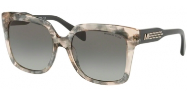 Sunglasses - Michael Kors - MK2082 CORTINA - 334111 PINK SILVER FLAKES // LIGHT GREY GRADIENT