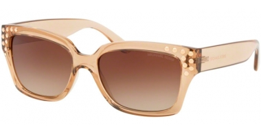 Gafas de Sol - Michael Kors - MK2066 BANFF - 334313 LIGHT BROWN CRYSTAL // SMOKE GRADIENT