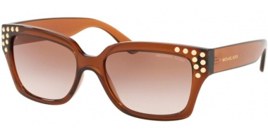 Gafas de Sol - Michael Kors - MK2066 BANFF - 334813 DARK BROWN CRYSTAL // BROWN PEACH GRADIENT
