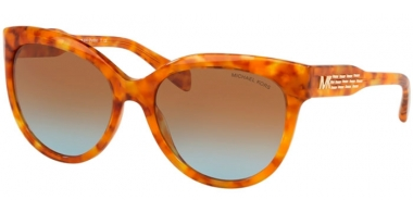Sunglasses - Michael Kors - MK2083 PORTILLO - 33395D AMBER TORTOISE // BROWN BLUE GRADIENT