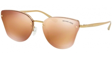 Sunglasses - Michael Kors - MK2068 SANIBEL - 33522C GOLD GLITTER // ACORN MIRROR