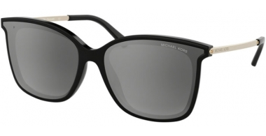 Sunglasses - Michael Kors - MK2079U ZERMATT - 333282 BLACK // GREY GRADIENT SILVER MIRROR POLARIZED