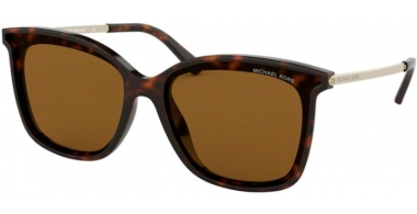Sunglasses - Michael Kors - MK2079U ZERMATT - 333383 DARK TORTOISE // BROWN SOLID POLARIZED