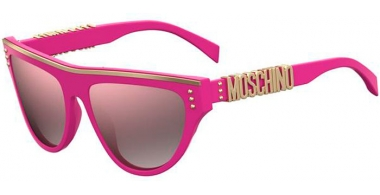 Sunglasses - Moschino - MOS002/S - MU1 (VQ) FUCHSIA // PINK MULTILAYER