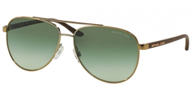 Sunglasses - Michael Kors - MK5007 HVAR - 10432L GOLD WOOD // GREEN GRADIENT