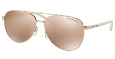 Sunglasses - Michael Kors - MK5007 HVAR - 1080R1 ROSE GOLD // ROSE GOLD FLASH