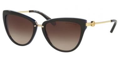 Sunglasses - Michael Kors - MK6039 ABELA II - 314713 DARK TORTOISE BLUE // SMOKE GRADIENT