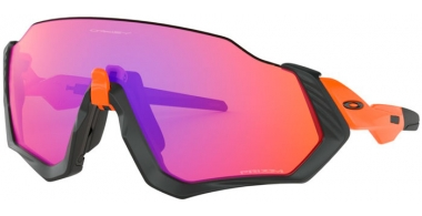 Gafas de Sol - Oakley - FLIGHT JACKET OO9401 - 9401-04 MATTE BLACK // PRIZM TRAIL