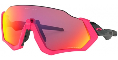 Gafas de Sol - Oakley - FLIGHT JACKET OO9401 - 9401-06 NEON PINK // PRIZM ROAD