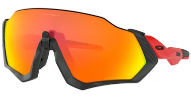 Gafas de Sol - Oakley - FLIGHT JACKET OO9401 - 9401-08 BLACK // PRIZM RUBY POLARIZED
