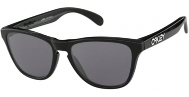 Frames Junior - Oakley Junior - FROGSKINS XS OJ9006 - 9006-01 POLISHED BLACK // GREY