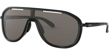 Gafas de Sol - Oakley - OUTPACE OO4133 - 4133-01 BLACK INK POLISHED BLACK // WARM GREY