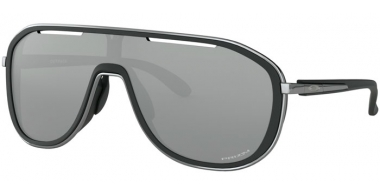 Sunglasses - Oakley - OUTPACE OO4133 - 4133-02 SOFT TOUCH BLACK BLACK ICE // PRIZM BLACK
