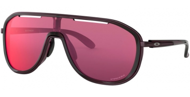 Sunglasses - Oakley - OUTPACE OO4133 - 4133-05 CRYSTAL RASPBERRY // PRIZM ROAD