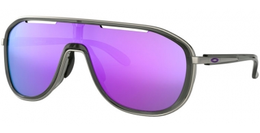 Sunglasses - Oakley - OUTPACE OO4133 - 4133-06 ONYX // VIOLET IRIDIUM