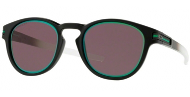 Sunglasses - Oakley - LATCH OO9265 - 9265-34 MATTE BLACK // PRIZM GREY JADE ALT IRIDIUM