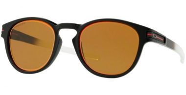 Sunglasses - Oakley - LATCH OO9265 - 9265-36 MATTE BLACK // PRIZM BRONZE RUBY ALT IRIDIUM