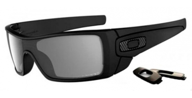 Gafas de Sol - Oakley - BATWOLF OO9101 - 9101-04 MATTE BLACK // GREY POLARIZED