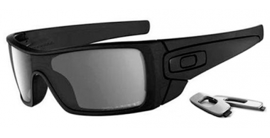 Gafas de Sol - Oakley - BATWOLF OO9101 - 9101-35 MATTE BLACK INK // BLACK IRIDIUM POLARIZED