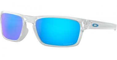 Sunglasses - Oakley - SLIVER STEALTH OO9408 - 9408-04 MATTE CLEAR // PRIZM SAPPHIRE