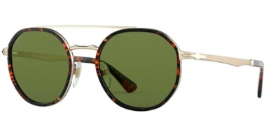 Sunglasses - Persol - PO2456S - 107652 GOLD // GREEN