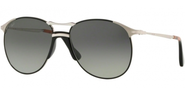 Gafas de Sol - Persol - PO2649S - 107471 SILVER BLACK // GREY GRADIENT DARK GREY