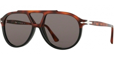 Gafas de Sol - Persol - PO3217S - 1089R5 BROWN BLACK TORTOISE // DARK GREY
