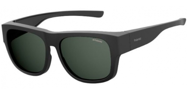 Sunglasses - Polaroid Ancillaries - PLD 9010/S - 003 (M9)  MATTE BLACK // GREY POLARIZED