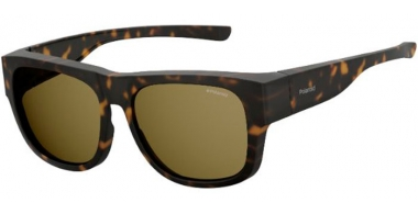 Sunglasses - Polaroid Ancillaries - PLD 9010/S - N9P (SP)  MATTE HAVANA / BRONZE POLARIZED