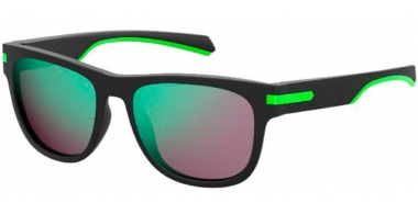 Gafas de Sol - Polaroid - PLD 2065/S - 003 (5Z)  MATTE BLACK // GREY MULTILAYER GREEN POLARIZED