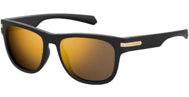 Gafas de Sol - Polaroid - PLD 2065/S - I46 (LM)  BLACK GOLD // GREY GOLD MIRROR POLARIZED
