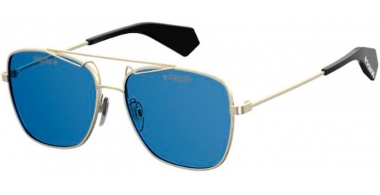 Sunglasses - Polaroid Premium - PLD 6049/S/X - 3YG (C3) LIGHT GOLD // GREY POLARIZED
