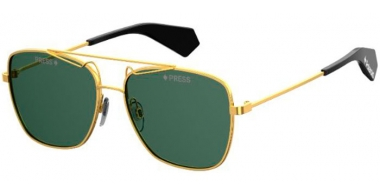 Sunglasses - Polaroid Premium - PLD 6049/S/X - J5G (UC) GOLD // GREEN POLARIZED
