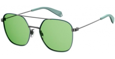 Sunglasses - Polaroid - PLD 6058/S - 1ED (UC) GREEN // GREEN POLARIZED