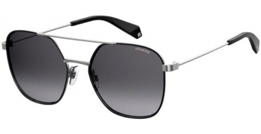 Sunglasses - Polaroid - PLD 6058/S - 284 (WJ) BLACK RUTHENIUM // GREY GRADIENT POLARIZED